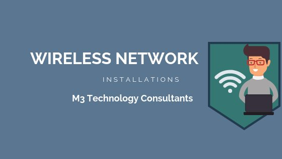 M3 wireless network installations banner